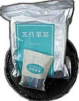 五行草茶として製品化された商品が販売されている。