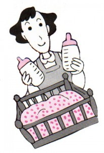 ふかふかの子宮内膜は、赤ちゃんのベッド