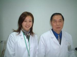 名医 夏 桂成Dr.と。中国の宝のような方です。とても丁寧に私たちに講義して下さいました。