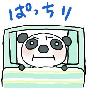 ③不眠パンダ