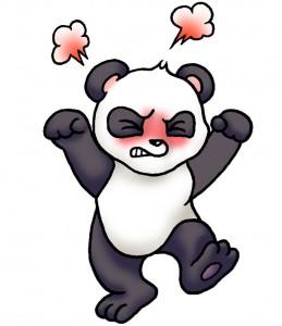 ④イライラパンダ