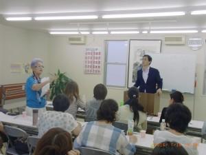 1期生授業・光子先生